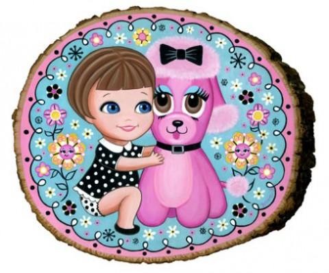 Liddle Lisa & Pink Poodle
